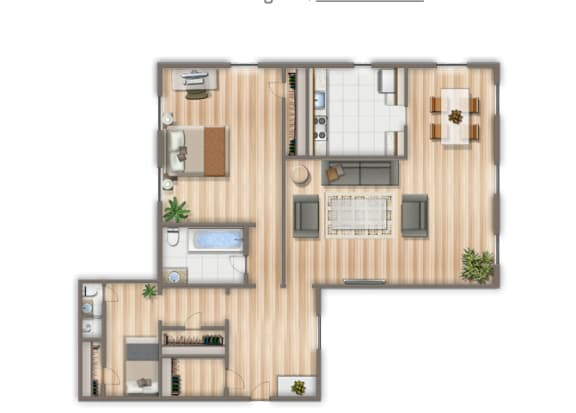 1100-Square-Foot-Two-Bedroom-Apartment-Floorplan-Available-for-Rent-2800-Woodley-Road
